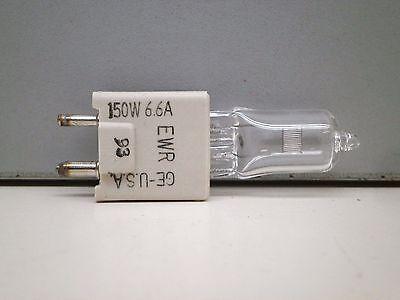 GE EWR 6.6A 150w Quartzline Projector Lamp Light Bulb 150W Bulb
