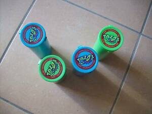 4 x Tazo collector tubes and tazos Logan Central Logan Area Preview