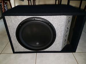 JL audio w3 subwoofer with amps Hampton Park Casey Area Preview