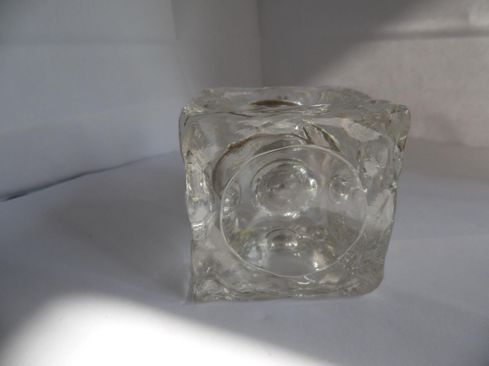 Briquet verre  sans marque vintage objet de fumeur