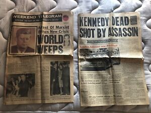 JFK newspapers
