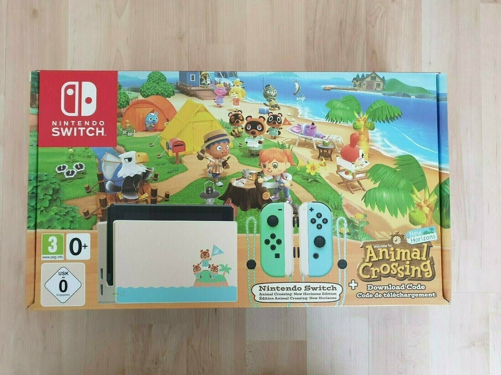 Nintendo Switch Animal Crossing: New Horizons limited Edition
