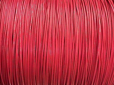 Red 22 Awg Gauge Stranded Hook Up Wire Kit 25 Ft Ul1007 300 Volt