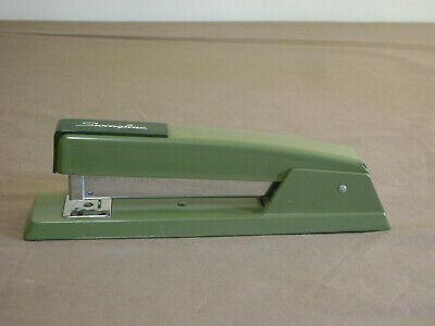 Vintage Swingline 747 Steel Stapler Army Green 94-41 Made In Usa