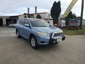 2009 TOYOTA KLUGER 7 SEATER 4WD Yatala Gold Coast North Preview