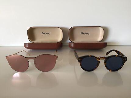 9e5d115c6387 New illesteva Leonard Italian Designer Sunglasses  300 RRP each