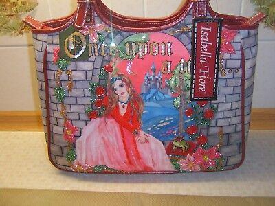 Princess beaded detail Isabella Fiore  'Once Upon A Time'  Handbag