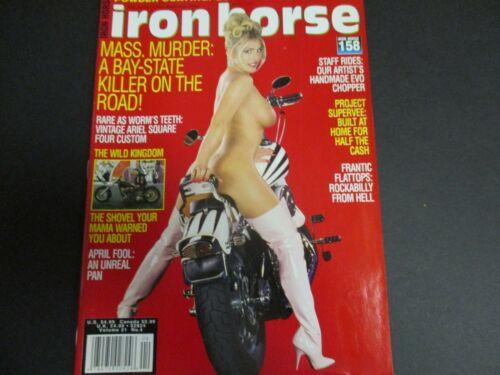 Iron Horse Magazine April 1998