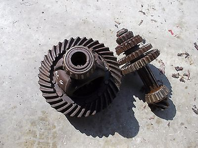 Allis Chalmers G Tractor Ac Transmission Ring Pinion Match Drive Gear Set Gears