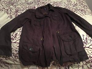 Gap grey XL fall/spring jacket