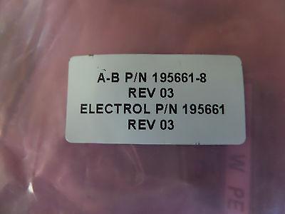 Allen Bradley 195661-8 195661 Electrol