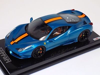 1/18 MR Collection Ferrari 458 Speciale Artemis Green Black wheels Carbon Signed for sale  Shipping to India