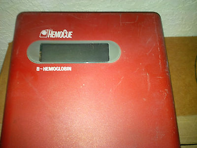 Hemocue B-hemoglobin Glucose Photometer Blood Analyzer Diabetic Monitor Miami