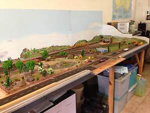 Valuable model train layout Earlville Cairns City Preview