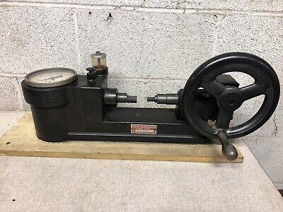 Vintage Haller Inc. Bench Pressure Tester Hydraulic Gauge Tester