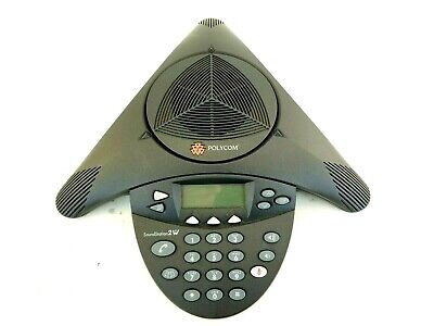 Polycom Soundstation 2w 1.9ghz Wireless Conference Phone Dect 6.0 2201-67800-160
