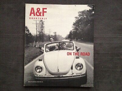 Abercrombie & Fitch Quarterly 1998  Back To School - ON THE ROAD Catalog
