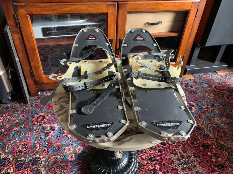 "MSR Lightning  Snowshoes 22"" Unisex grey"