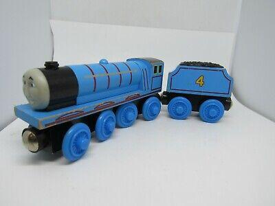 THOMAS THE TRAIN & FRIENDS WOODEN ENGINE GORDON & GORDONS TENDER