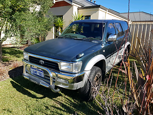 Toyota Hilux Surf 1993 3.0L turbo diesel Automatic Green 4WD Butler Wanneroo Area Preview