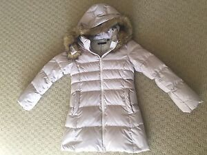 Girls light warm padded parka 7-8y St Ives Ku-ring-gai Area Preview