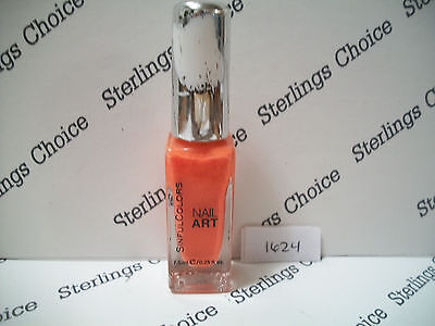 Sinful Colors Nail Art Polish #1624 Orange Alert for sale  Shipping to India