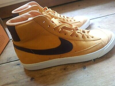 NIKE BLAZER 77 - AMBER RISE / GRAND PURPLE - SIZE 10.5 -  NEW! RARE!