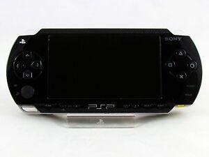 BLACK-SONY-PSP-Fat-1003-console-di-gioco-ottime-condizioni-Garanzia