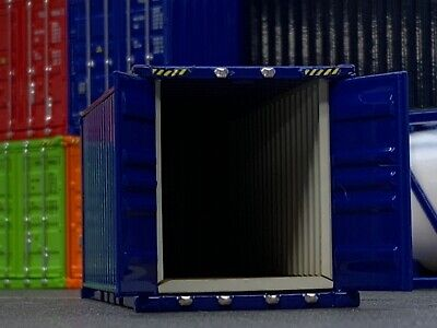 1/64 DCP BLUE 20' SHIPPING CONTAINER UNIT 2