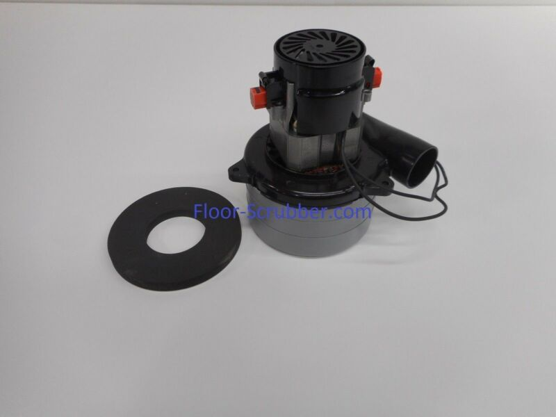 Ametek 116515-07 Floor Scrubber Vac Motor 24V 3 Stage Tennant SS5 T5 1025106