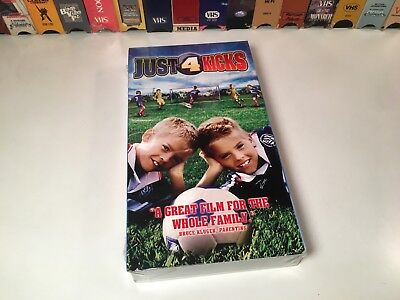 Just 4 Kicks New Family Soccer Comedy VHS 2003 Cole & Dylan Sprouse Tom Arnold