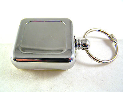 Heavy Duty Retractable Key Ring Pull Cord with Self Adhesive Peel Off Pad OM844