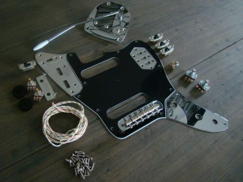 fender jaguar bass wiring kit fender squier bass wiring diagram jaguar guitar full replacement hardware pickguard wiring ...