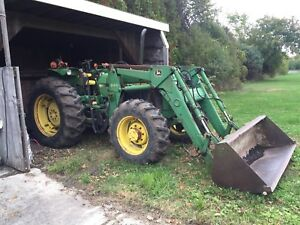 2755 John Deere Tractor and attachments