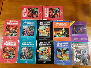 Original Dungeons and Dragons RPG Collection Huntingdale Gosnells Area Preview