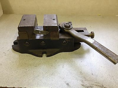 Quick Release Milling Machine Drill Press Cam Lever Vise 4 Wide 4 Opening