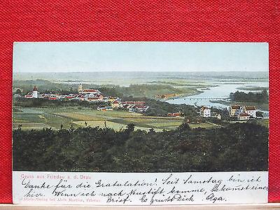 Farbkarte - Gruss aus Friedau a.d. Drau - gel. 1905 - Slowenien