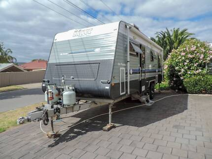 Custom built 23' River off road caravan REDUCED PRICE URGENT SALE Modbury Tea Tree Gully Area Preview