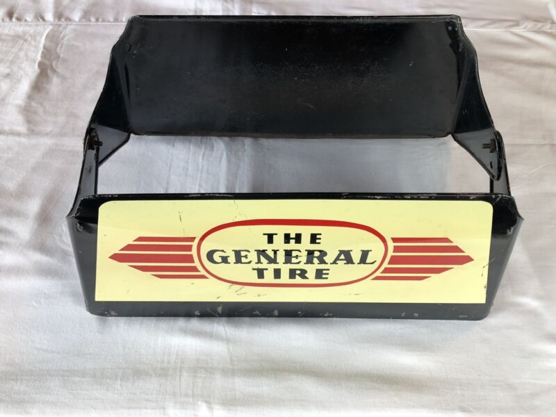 Vintage The General Tire Display Stand Sign