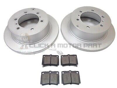 Fits Mitsubishi Shogun Pinin Comline 5 Stud Front Vented Brake Disc /& Pad Kit