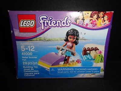 LEGO FRIENDS 41000 WATER SCOOTER FUN 28 PIECES INCLUDED     NEW