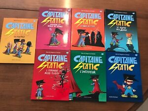 Livres Capitaine Static