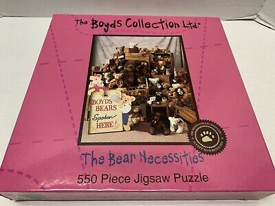 jigsaw puzzle 550 pc The Boyds Collection Ltd The Bear - Bear Necessities Collection