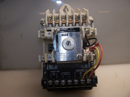 NEW ASCO REMOTE CONTROL LIGHTING SWITCH 917-62071  277 VAC