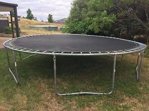 Large 4m Trampoline Royalla Queanbeyan Area Preview