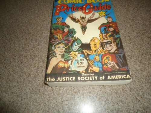 OVERSTREET COMIC BOOK PRICE GUIDE #4 SC