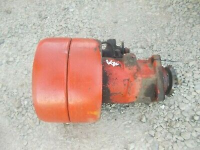 Case Vac Tractor Original Belt Pulley Drive Assembly Hydraulic Pump Assembly
