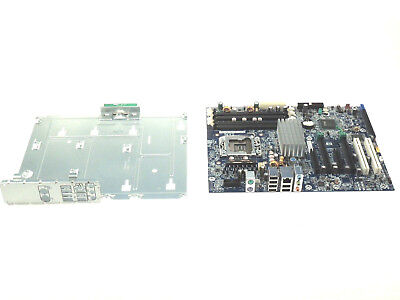 HP Workstation Motherboard Intel System Board i/o Panel Tray 460839-002 - TESTED ()