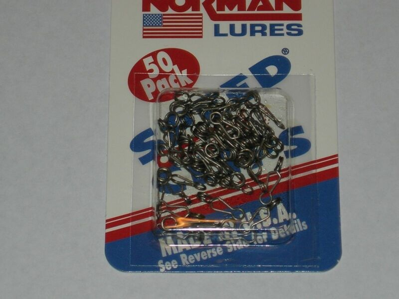 Norman Speed Clips, 50 pack, NIP, 0365