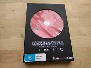 Ghost in the Shell Stand Alone Complex Official Log DVD book Reservoir Darebin Area Preview